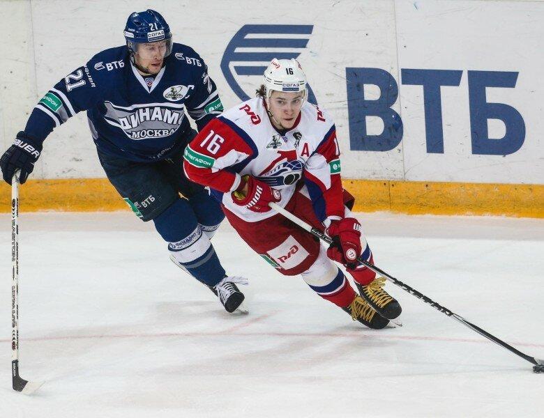 Столичное «Динамо» победило «Локомотив» вматче КХЛ