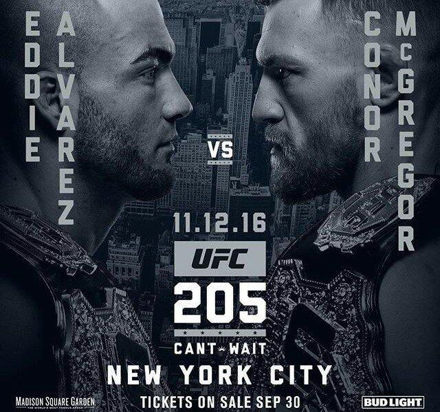 Макгрегор вполне может стать первым вистории UFC чемпионом в 2-х весовых категориях