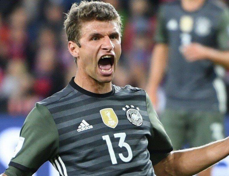 Сборная Германии разгромила команду Чехии вматче отбораЧМ
