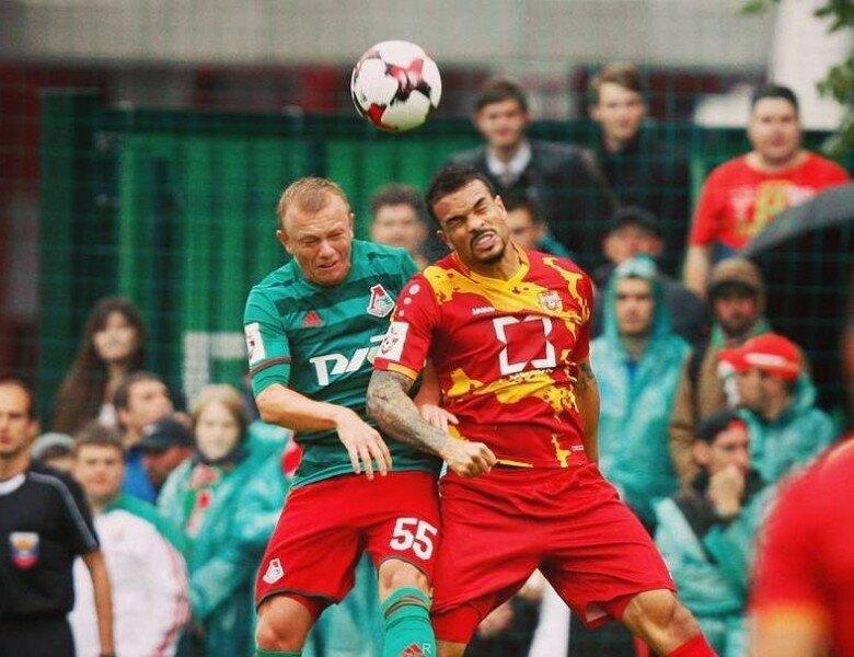 Начался 2-ой тайм матча «Локомотив»— «Арсенал»