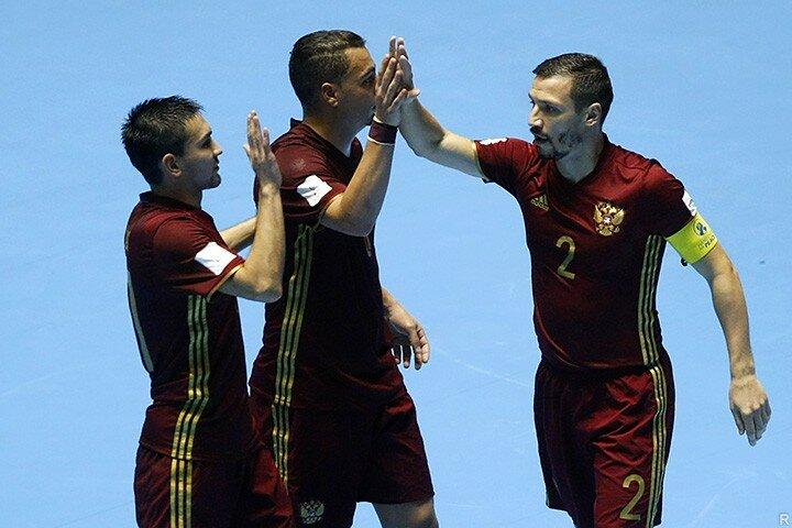 Сборная Аргентины обыграла РФ вфинале чемпионата мира пофутзалу