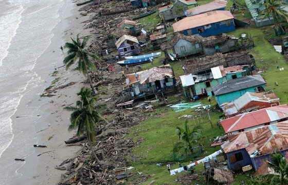 Поменьшей мере 25 человек стали жертвами урагана «Мэтью»